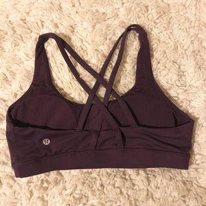 Lululemon brand new maroon sports bra